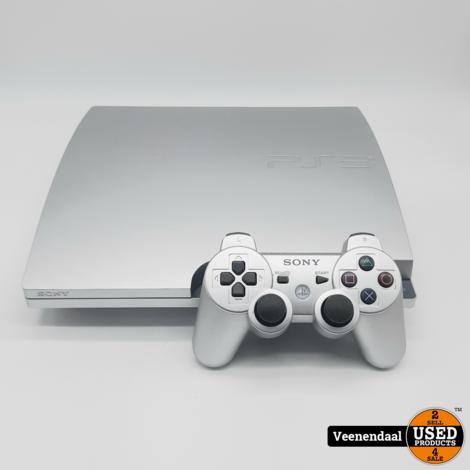Sony Playstation 3 Slim 320GB Zilver - In Goede Staat