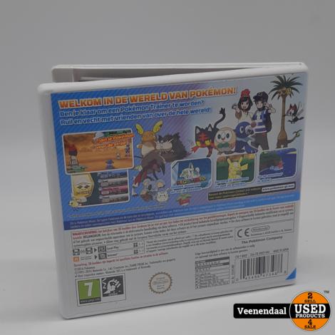 Pokemon Moon - 3DS Game