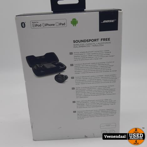 Bose Sport Free Earbuds - Draadloos in Nette Staat