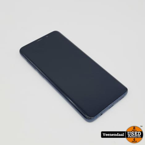 Samsung Galaxy S9 Plus 128GB Blauw - In Prima Staat