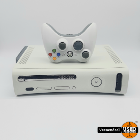 Xbox 360 60GB Arcade - Incl Controller - In Goede Staat