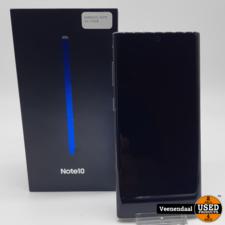 Samsung Samsung Galaxy Note10 256GB Zilver Compleet in Doos