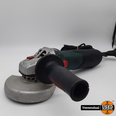 Metabo W 9-125 QUICK Haakse Slijper - 900W - 125mm in Goede Staat