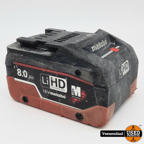 METABO ME1880 18V LIHD ACCU - 8.0AH