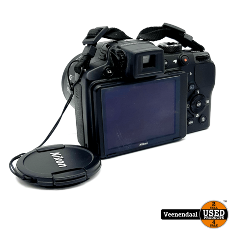 Nikon Coolpix P510 16.1MP Zwart - In Goede Staat