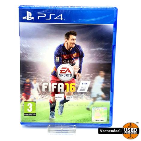 FIFA 16 - PS4 Game - Nieuw In Seal