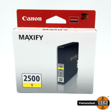 Canon 2500Y Cartridges Geel - Nieuw