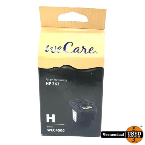 WeCare HP363 Cartridge Zwart WEC4500 - Nieuw