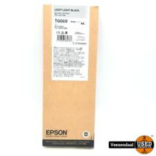 Epson Epson Light Light Black Cartridge T6069 - Nieuw