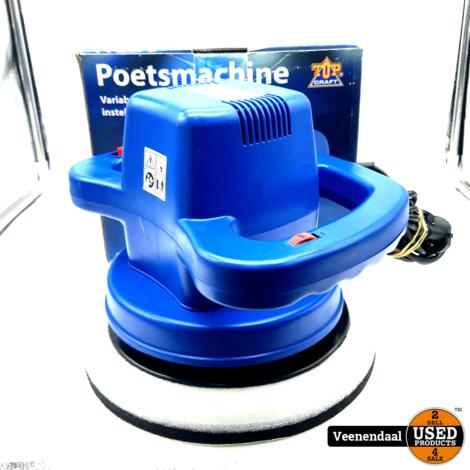 Topcraft Poetsmachine 240mm - Nieuw