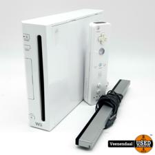 Nintendo Nintendo Wii Spelcomputer - Incl. Controller - In Goede Staat