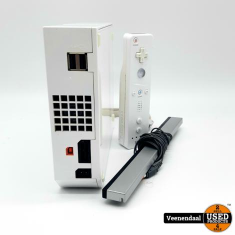 Nintendo Wii Spelcomputer - Incl. Controller - In Goede Staat