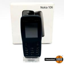 Nokia Nokia 106 Dual-Sim Zwart - In Goede Staat