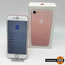 Apple Apple iPhone 7 32GB Rose Gold Accu 100% - In Gebruikte Staat