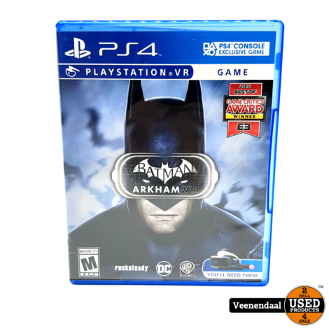 Batman Arkham VR - PS4 Game