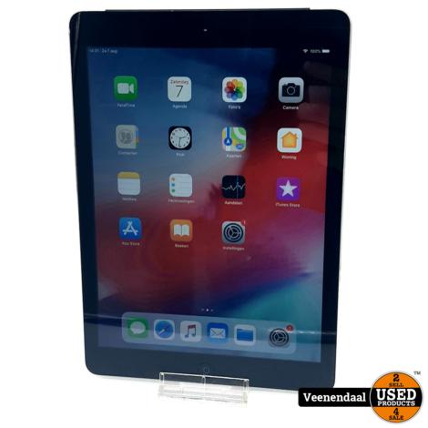 Apple iPad Air 1 9.7 Inch 16GB 4G Zilver - In Goede Staat