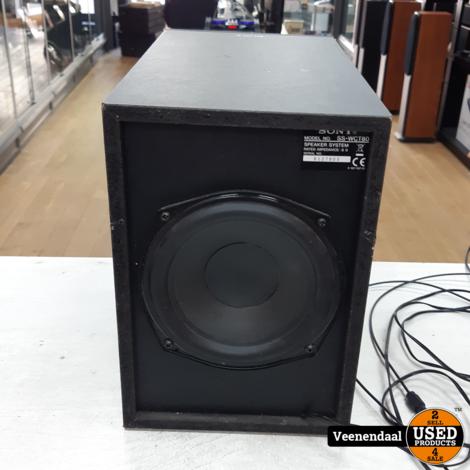 Sony SA-CT80 Soundbar 21Watt Zwart - In Goede Staat