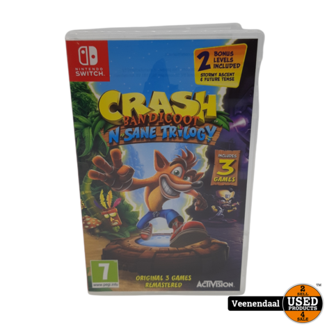 Crash Bandicoot Remastered Collection - Nintendo Switch Game