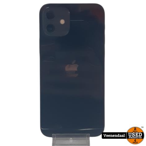 Apple iPhone 12 64GB Blauw - Accu 100% + Apple Care Garantie