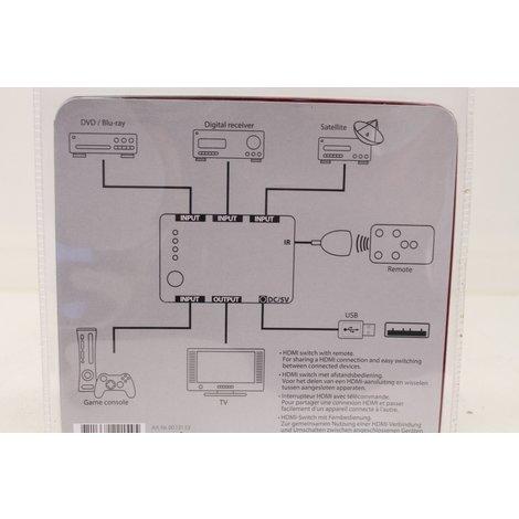 Q-link HDMI Switch met afstandsbediening Nieuw