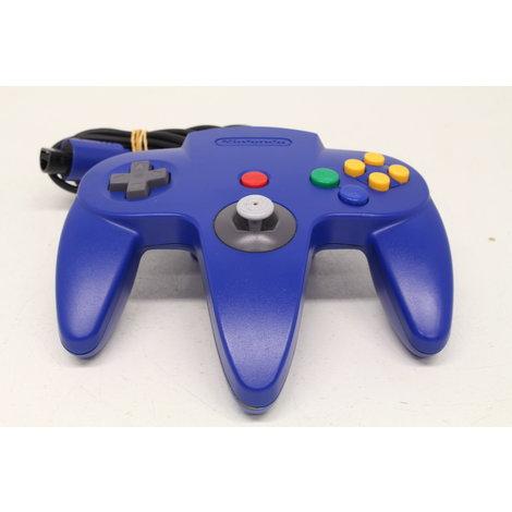 Nintendo 64 controller Blauw ZGAN