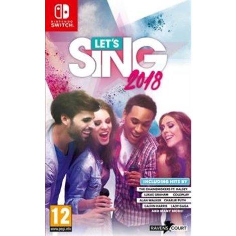 Let's Sing 2018 Nintendo Switch