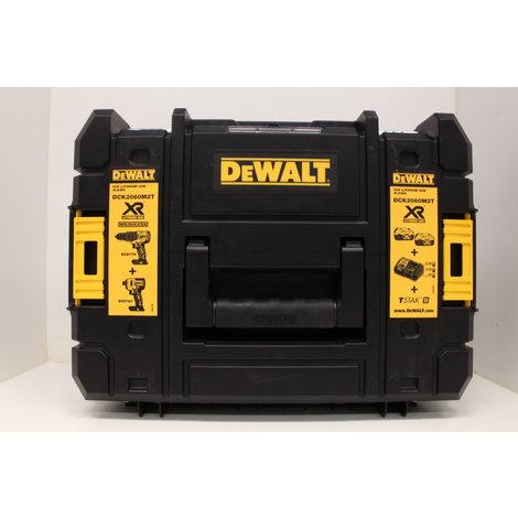 Dewalt Comboset DCK2060M2T 18V DCD778 en DCF787 in Tstak Koffer ! Black Friday Deal !