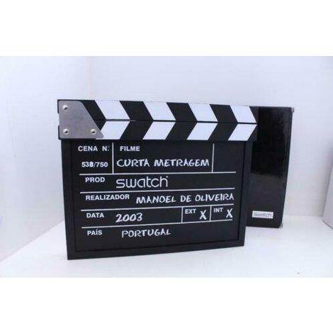 Swatch Special GZ181PACK2 Film Clapper (Curta-Metragem) horloge