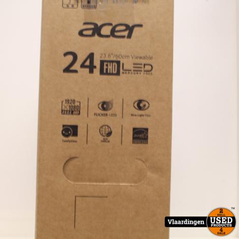 Acer KA240HQBbid Monitor 23.6- compleet in doos met garantie-