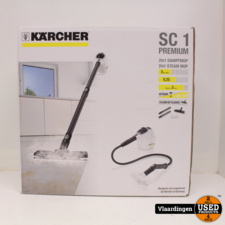 karcher Kärcher SC1 Premium + Floor Kit Classic Wit/Zwart *ZGAN*
