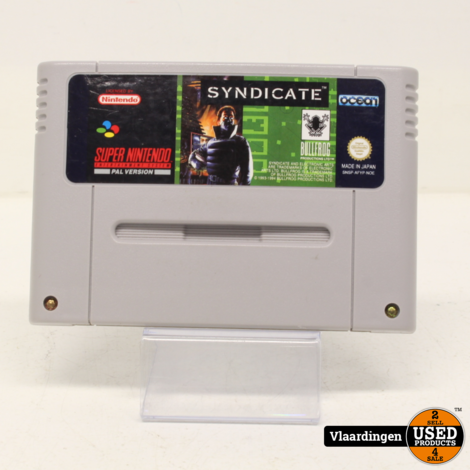 Syndicate Super Nintendo SNES