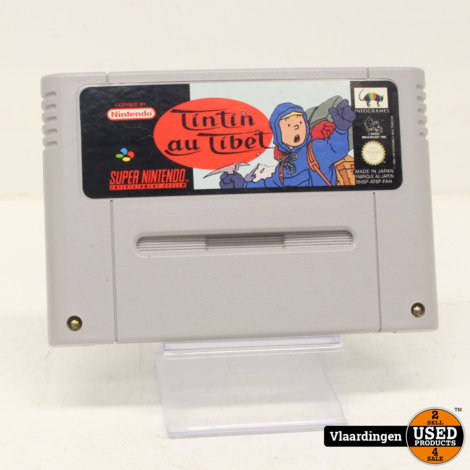 TinTin au Tibet Super Nintendo SNES