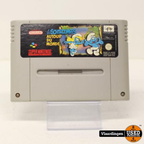 De smurfen Super Nintendo SNES