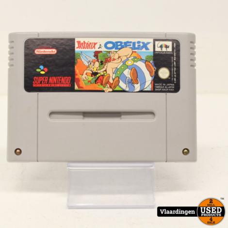 Astrix en Obelix Super Nintendo SNES