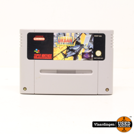 Urban Strike SNES Super Nintendo