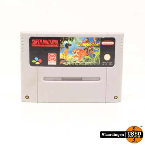 Jungle Book SNES Super Nintendo
