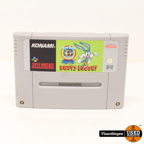Tiny Toon Buster Bust Loose SNES Super Nintendo