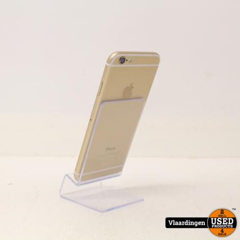 iPhone 6 64GB Gold-met garantie-