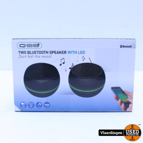 TWS Bluetooth Dual Speaker with Led  - Nieuw in doos -
