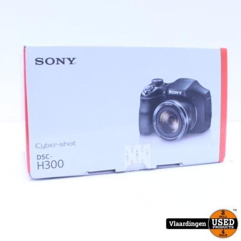 Sony Cybershot DSC-H300  - Nieuw in open doos -