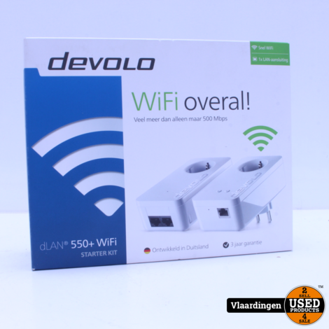Devolo DLAN 550+ Wifi Starterkit *ZGAN*