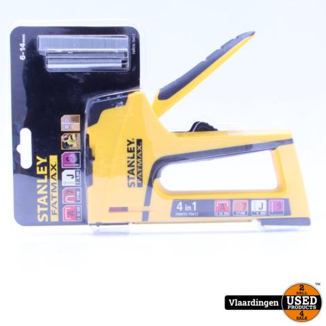 Stanley FMHT6-70411 FatMax Lichte Handtacker 4 in 1 *NIEUW*