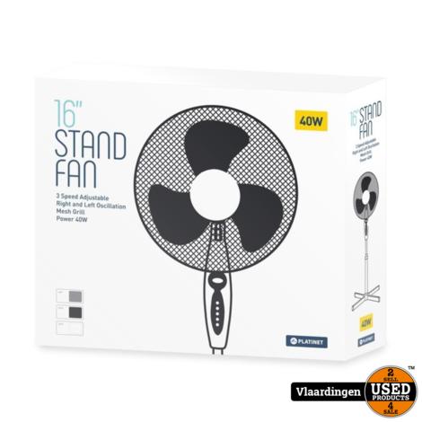 Statief Ventilator Wit 40 CM - Nieuw in Doos -