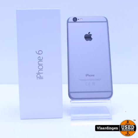 iPhone 6 32GB Space Grey - In Doos - Met garantie -  Accu  95% -