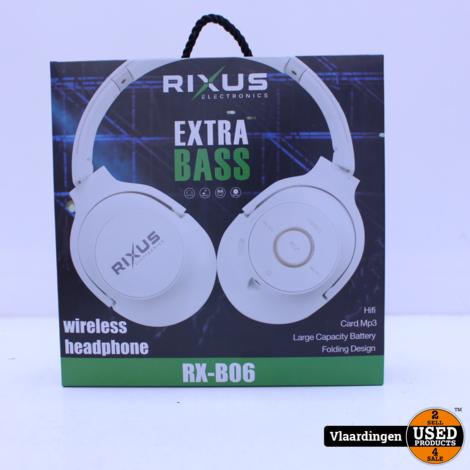 Rixus Wireless Koptelefoon RX-B06 - Nieuw in Doos -