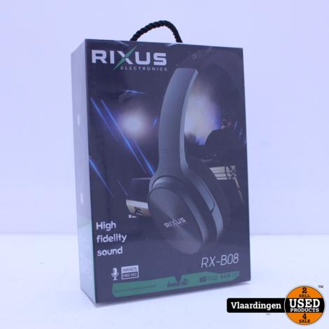 Rixus Wireless Koptelefoon RX-B08 - Nieuw in Doos -