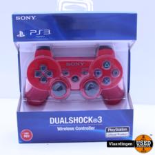Playstation Playstation 3 Controller Rood - Nieuw in Doos -