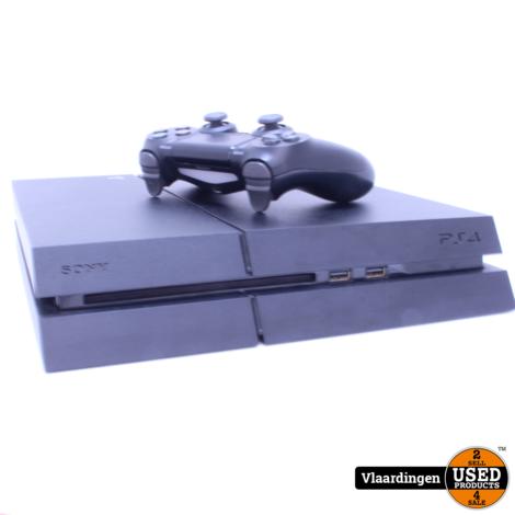 Sony Playstation 4 500GB-met garantie-