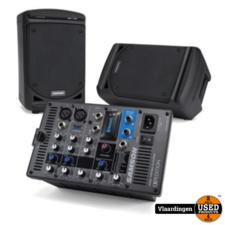 samson. Samson XP300 Portable PA System met Bluetooth.