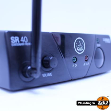 AKG WMS 40 Draadloze Microfoon met ontvanger - in topstaat - met Garantie
